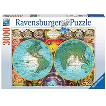 Ravensburger Antique Map Puzzle 3000 Piece Jigsaw Puzzle for Adults – Softcl