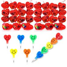 JOYIN 28 Valentines Day Pre Filled Hearts with Valentine Cards Filled with Hea