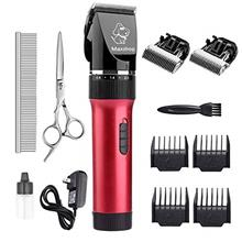 Maxshop Low Noise Rechargeable Cordless Cat and Dog Clippers - Professional Pe