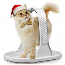 Kiket 4-in-1 Cat Arch Self Groomer Cat Massager, Cat Hair Brush for Grooming w