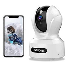 [New 2020]DOGCOOL FHD Pet Camera Dog Camera 360° WIFI Pet Monitor Indoor Home