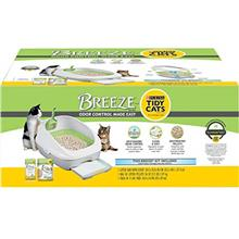 Purina Tidy Cats Litter Box System, Breeze System Starter Kit Litter Box, Litt