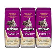 WHISKAS CATMILK PLUS Drink for Cats and Kittens 6.75 Ounces (Eight 3-Count Box