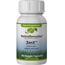 Native Remedies ZenX - All Natural Herbal Supplement for a Naturally Calm Mood