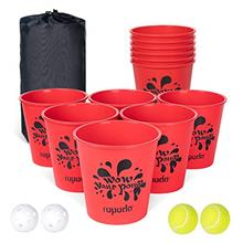ROPODA Yard Pong - Giant Pong Game Set Outdoor for The Beach, Camping, Lawn an