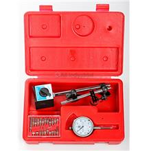 Dial Indicator Kit with Magnetic Base & 22 pc.Pointer for setting Table Saw b