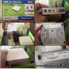 **incendeo** - SHIRO ADSL2+ Ethernet USB Combo Router DSL-805U