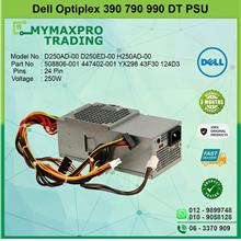 DELL Optiplex 390 790 990 DT 250W Power Supply PSU YX298 43F30 124D3