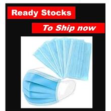 3ply Disposable Face Mask Disposable 3 layer 50pcs Surgical masks Rdy