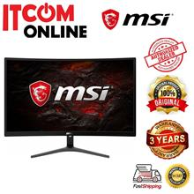 MSI OPTIX 23.6' CURVE 75HZ LED GAMING MONITOR (G241VC) FHD/VGA/HDMI/VESA/VA/1M