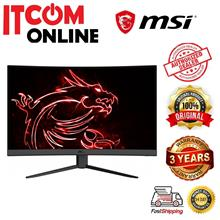 MSI 31.5' CURVE 165HZ GAMING MONITOR (OPTIX G32C4) HDMI*2/DP/FHD/VA/1MS/VESA