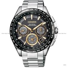 CITIZEN CC9015-54F Satellite Wave Eco-Drive Titanium Bracelet Black