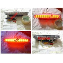 Toyota Estima `03-`07 Third Brake Light [22pcs LED] CLEAR/RED/SMOKE