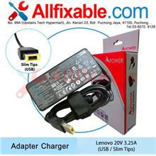 Lenovo 20v3.25a ThinkPad X1 Carbon 3443 3446 3460 3463 Adapter Charger