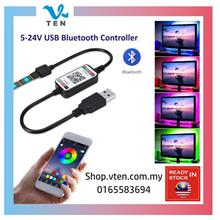 DC5V Bluetooth Controller for USB RGB LED Strip Light Phone Control