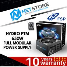 FSP HYDRO PTM 650W 80 PLUS PLATINUM FULL MODULAR POWER SUPPLY