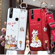vivo S1 Pro Handheld Meow Cute case casing cover for kid S1 Pro