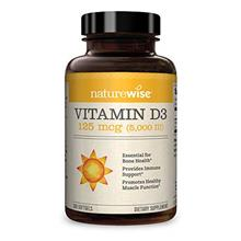 NatureWise Vitamin D3 5000iu (125 mcg) 1 Year Supply for Healthy Muscle Functi