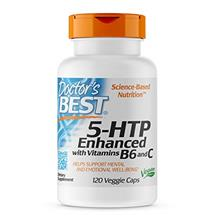 Doctor's Best 5-HTP Enhanced with Vitamins B6  & C, Non-GMO, Vegan, Gluten Fre