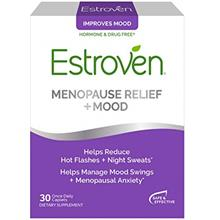 Estroven Menopause Relief + Mood Once-Daily Supplement - Helps Reduce Hot Flas