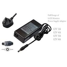 AC Adapter For LCD Monitor 12V 5A 60W 5.5*2.5 mm