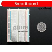 Solderless Mini Breadboard 400 holes 8.5cm X 5.5cm for Arduino