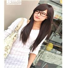 Long straight wig JK13/ready stock/ rambut palsu
