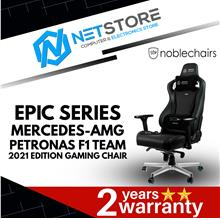 NOBLECHAIRS EPIC MERCEDES-AMG PETRONAS F1 TEAM-2021 GAMING CHAIR