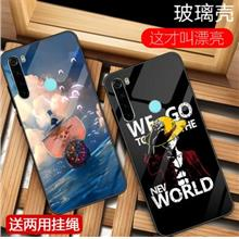 Xiaomi Redmi Note 8 Pro 8A One Piece Tempered back case casing cover