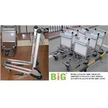 Trolley Airport Luggage Cart 200 Kgs Aluminum BNSR-MHE-AT002