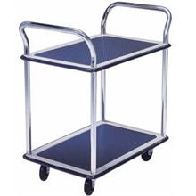 Trolley Hand Truck 2Handle 2Decker 150Kgs Metal MS104