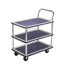Trolley Hand Truck 1Handle 3Decker 150Kgs Metal MS115