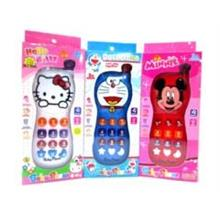 Cartoon Baby Phone With Music Light For Kids Children Gift Birthday