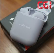 RadioShack Free Air True Wireless Earbud with Charging Base - Grey