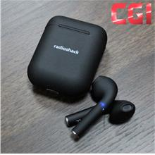 RadioShack Free Air True Wireless Earbud with Charging Base - Black