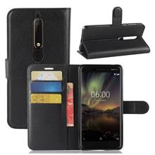 Nokia 6.1 phone protection case casing cover flip wallet card 2018
