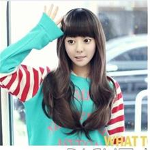 slightly curve wig/ 227/ ready stock/ rambut palsu