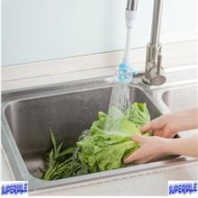 Kitchen Utility Transparent Faucet Water Pipe Saving Regulator