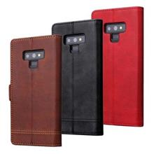 Samsung Galaxy Note 8 leather wallet phone protection case casing flip