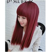 Medium wig cs6/ rambut palsu/ ready stock