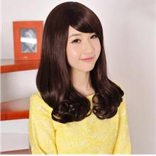 medium wig curve/rambut palsu/ready stock