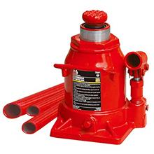 BIG RED T92007A Torin Hydraulic Stubby Low Profile Welded Bottle Jack, 20 Ton
