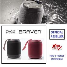 Zagg Braven BRV MINI Rugged Portable Speaker IPX7 Waterproof Bluetooth