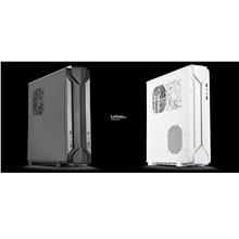 # SILVERSTONE Raven Series RVZ03-ARGB Mini-ITX Case # Black/White