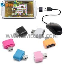 *USB 2.0 Micro^USB to USB OTG Host Adapter On-The-Go Mini Adapter