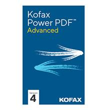 KOFAX Power PDF 4 Advanced Non-Volume Download P/N PPD-PER-0252-001U