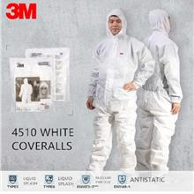 PPE Medical Disposable Microporous Coverall 3M 4510 AS NFR Covid-19 ZZ