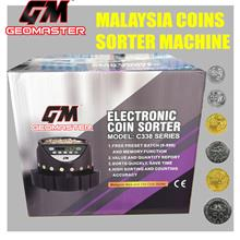 NEW 2018 GEOMASTER Money Banker Coin Counter ,Coin sorter Machine ( 10 YEARS W