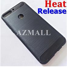 (Heat Release) Rugged Slim TPU Case Cover Huawei Nova 2 Lite /Honor 7C