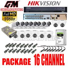 HIKVISION CCTV DS-7216HQHI-K1 SERIES 2MP FULL 1080 FULL HD TURBO HD DVR 16CH-